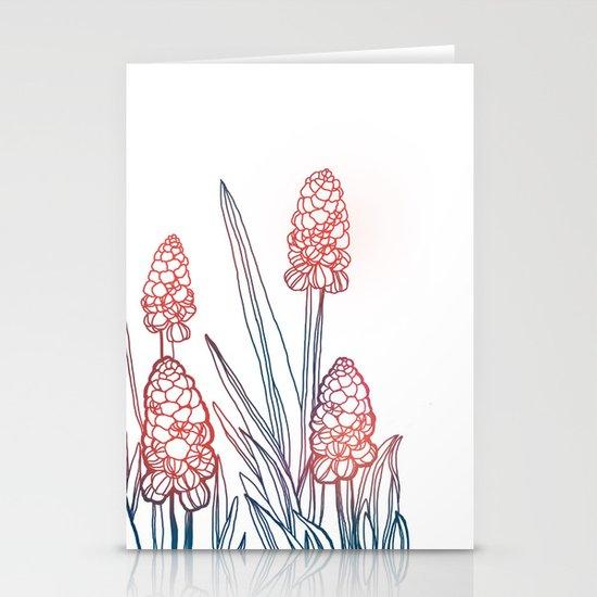 Hyacinths Stationery Cards