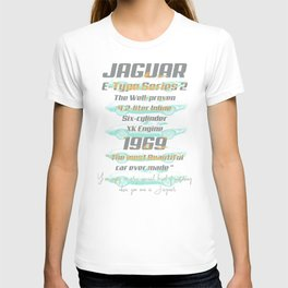1969 Jaguar E-Type Series 2 T-shirt