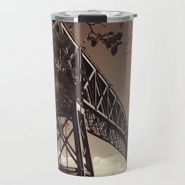 The mistery bridge. Retro Travel Mug