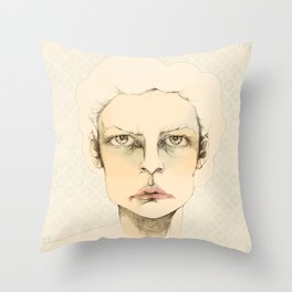 """portrait of anybody"" Throw Pillow"
