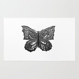 The Beauty in You - Butterfly #2 #drawing #decor #art #society6 Rug