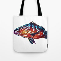 boss Tote Bags featuring Boss by Bocese