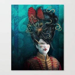 Queen of the Wild Frontier Canvas Print