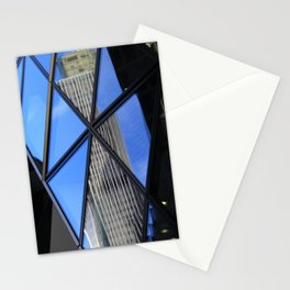 Reflections - The Gherkin & Tower42 Stationery Cards