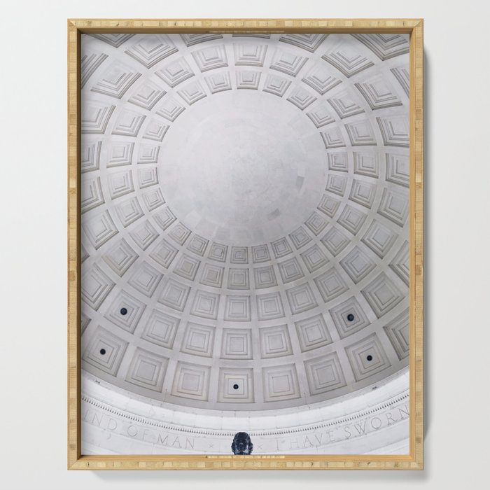 Jefferson Memorial Serving Tray