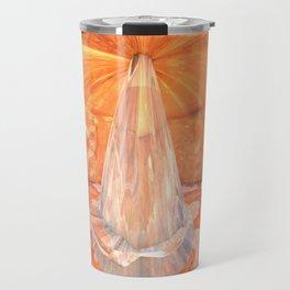 Big Lava Pillar Travel Mug