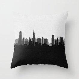 City Skylines: Chicago (Alternative) Throw Pillow