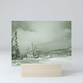 Winter day3 Mini Art Print