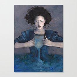 Hurricane Woman Canvas Print