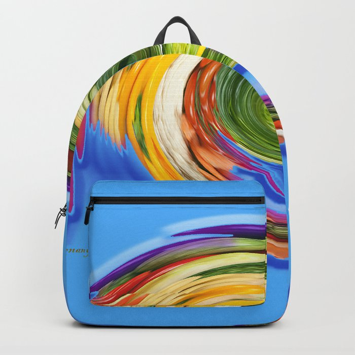 The whirl of life, W1.9C Backpack
