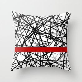 skarletan Throw Pillow