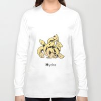 hydra Long Sleeve T-shirts featuring Hydra by James Courtney-Prior