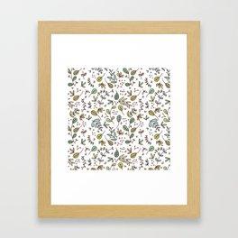 Botanical Illustration Framed Art Print