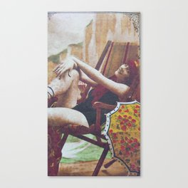 So Revealing Canvas Print