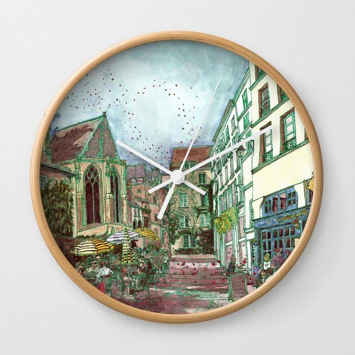 Parisia Wall Clock