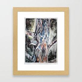 Starved Rock: Damn Trash Framed Art Print