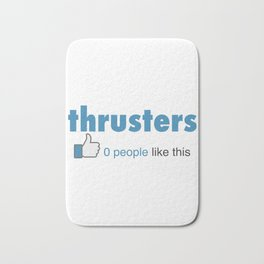 Funny Fitness Thrusters 0 People Like This Bath Mat