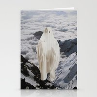 ghost Stationery Cards featuring Ghost by John Turck