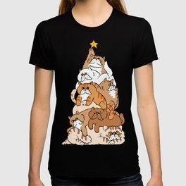 Christmas Tree Cats T-Shirt