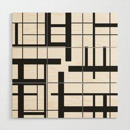 Lines #3 Wood Wall Art