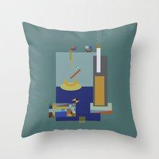 spiriti: pearl Throw Pillow