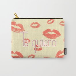 i love you in spanish Carry-All Pouch