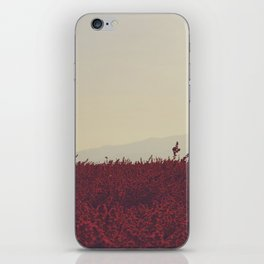Field of Red iPhone Skin