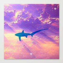Air Shark Canvas Print