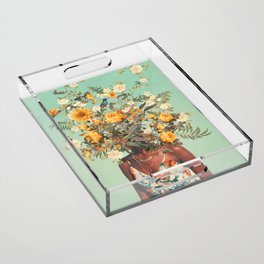 You Loved me a Thousand Summers ago Acrylic Tray