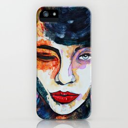 Wink iPhone Case
