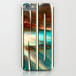 """""""Grinding"""" iPhone Case"""