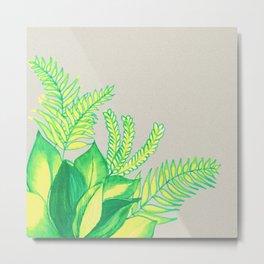 Greens and Yellows ! Metal Print