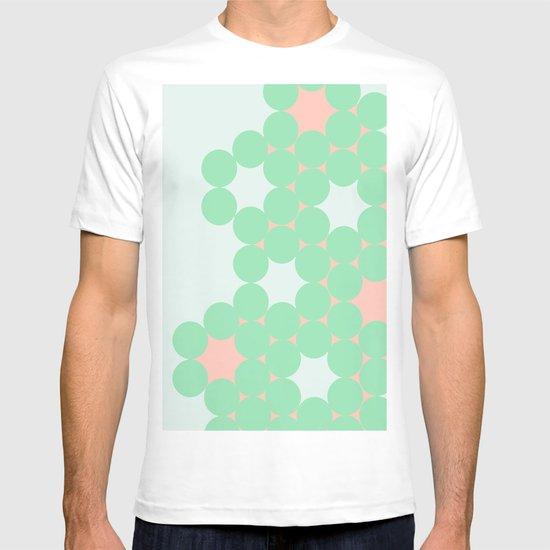 Teal Dot T-shirt