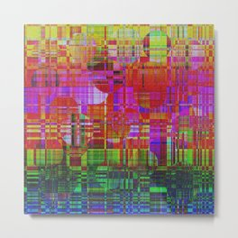 1300 Abstract Thought Metal Print