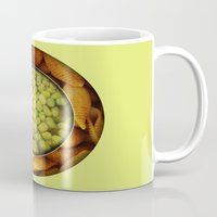 pasta Mugs featuring Pasta + Beans by romano