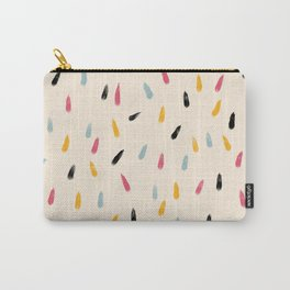 Abstract Colorful Retro Colored Rain Drops - Imugi Carry-All Pouch