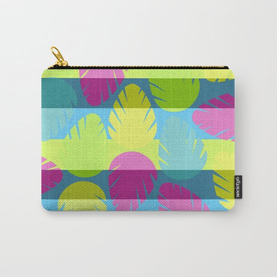 Tropical stripes II Carry-All Pouch