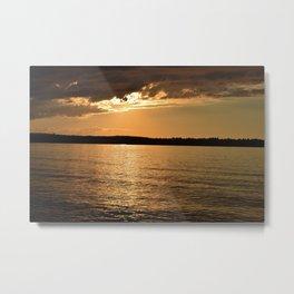 Lake Superior, M Metal Print