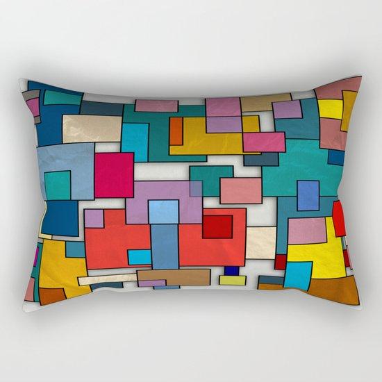 Abstract #317 Rectangular Pillow