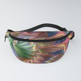 Diamond pattern colorful Fanny Pack