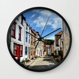Staithes Wall Clock