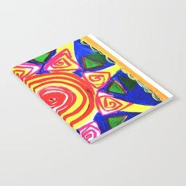 Ethnic style Sun Notebook