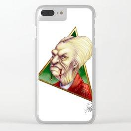 Vlad Portrait Clear iPhone Case