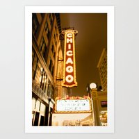 theatre Art Prints featuring Theatre by Riley Helsen