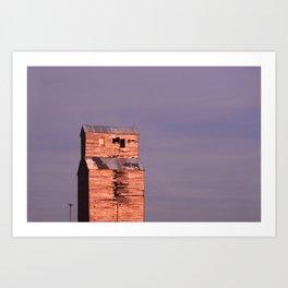 Comanche Sunset Art Print