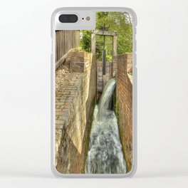 Sluice Gate at the Water mill Clear iPhone Case