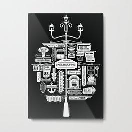 Best of Melbourne Metal Print