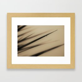 One Drop Framed Art Print