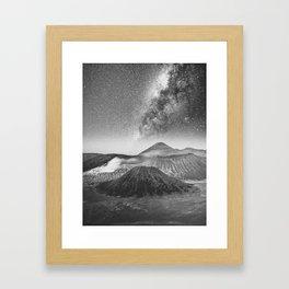 MOUNT BROMO Framed Art Print