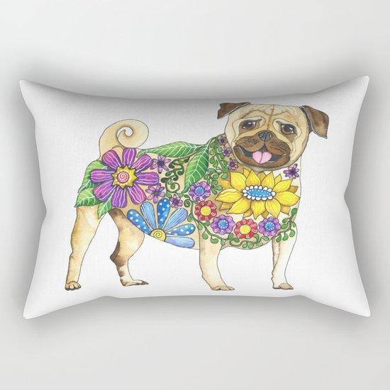 The Pugster Rectangular Pillow